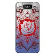 Capa Personalizada Asus Zenfone 6 ZS630KL - Mandala Floral - TP258