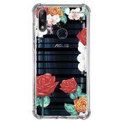 Capa Personalizada Asus Zenfone Max Pro (M2) ZB631KL - Floral - FL33