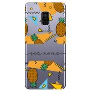 Capa Personalizada Galaxy A8 2018 Plus - NM12