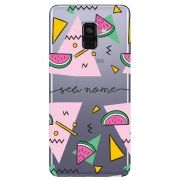 Capa Personalizada Galaxy A8 2018 Plus - NM13