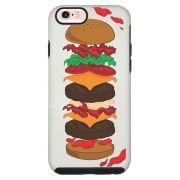 Capa Personalizada Impacto Duo Branca Apple iPhone 6 6s Food - TP107