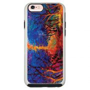 Capa Personalizada Impacto Duo Branca Apple iPhone 6 6s Pintura - AT38