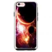 Capa Personalizada Impacto Duo Branca Apple iPhone 6 6s Planetas - AT29