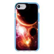 Capa Personalizada Intelimix Intelishock Azul Apple iPhone 7 - Planetas - AT29