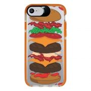 Capa Personalizada Intelimix Intelishock Laranja Apple iPhone 7 - Food - TP107