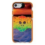 Capa Personalizada Intelimix Intelishock Laranja Apple iPhone 7 - Summer Love - AT40