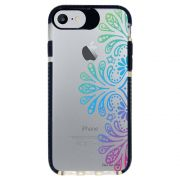 Capa Personalizada Intelimix Intelishock Preta Apple iPhone 7 - Mandala - TP259