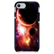 Capa Personalizada Intelimix Intelishock Preta Apple iPhone 7 - Planetas - AT29