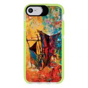 Capa Personalizada Intelimix Intelishock Verde Apple iPhone 7 - Pintura - AT36