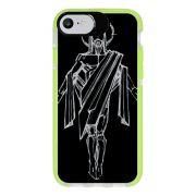 Capa Personalizada Intelimix Intelishock Verde Apple iPhone 7 - Religião - RE20