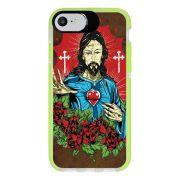 Capa Personalizada Intelimix Intelishock Verde Apple iPhone 7 - Religião - RE21