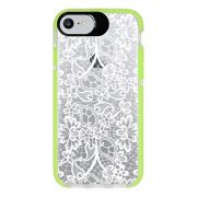 Capa Personalizada Intelimix Intelishock Verde Apple iPhone 7 - Rendas - TP283