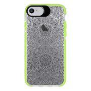 Capa Personalizada Intelimix Intelishock Verde Apple iPhone 7 - Rendas - TP292
