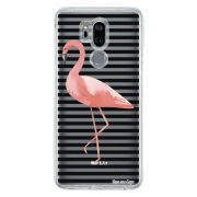 Capa Personalizada para LG G7 ThinQ G710 Flamingo - TP317