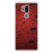 Capa Personalizada para LG G7 ThinQ G710 Love - LV06