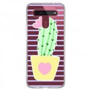 Capa Personalizada LG K51S K510 - Cacto  - CA03