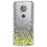 Capa Personalizada para Motorola Moto E5 Corações - TP171