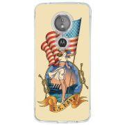 Capa Personalizada Motorola Moto E5 Vintage - VT12