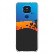 Capa Personalizada Motorola Moto E7 Plus XT2081 - Por do Sol - TX81