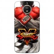 Capa Personalizada para Motorola Moto G5S Plus 2017 - Street Fighter Ryu - SF05