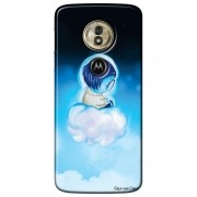 Capa Personalizada para Motorola Moto G6 Play - Tristeza - DE12