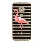 Capa Personalizada Motorola Moto G7 Play XT1952 Flamingos - TP317
