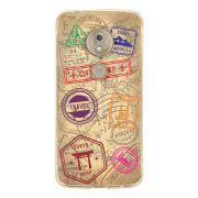 Capa Personalizada Motorola Moto G7 Play XT1952 Travel Cards - MC04