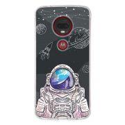Capa Personalizada Motorola Moto G7 Plus XT1965 Estrelas - ST04
