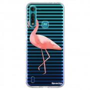 Capa Personalizada Motorola Moto G8 Power Lite XT2055 - Flamingos - TP317