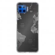 Capa Personalizada Motorola Moto G 5G Plus - Mapa Mundi - MC01