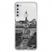 Capa Personalizada Motorola One Fusion+ XT2067 - Torre Eiffel - MC13