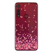 Capa Personalizada Motorola One Macro XT2016 - Corações - TP48