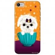 Capa Personalizada para Apple Iphone 8 - Cachorro no Pote - DE03