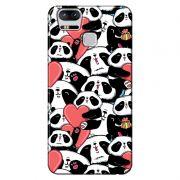 Capa Personalizada para Asus Zenfone 3 Zoom ZE553KL Love Panda - LV21