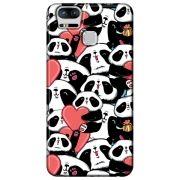 Capa Personalizada para Asus Zenfone 3 Zoom ZE553KL - Love Panda - LV21