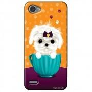 Capa Personalizada para LG Q6 M700TV - Cachorro no Pote - DE03