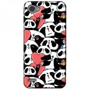 Capa Personalizada para LG Q6 M700TV - Love Panda - LV21