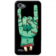 Capa Personalizada para LG Q6 M700TV - Rock n Roll - AT06