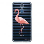 Capa Personalizada para LG Q7/Q7+ Flamingos - TP317