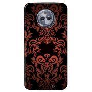 Capa Personalizada para Motorola Moto G6 Plus - Textura Flores - TX05