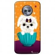 Capa Personalizada para Motorola Moto X4 XT1900 - Cachorro no Pote - DE03