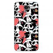 Capa Personalizada para Multilaser MS50 4G Love Panda - LV21