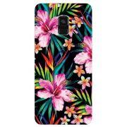 Capa Personalizada para Samsung Galaxy A8 2018 - Flor - FL12
