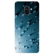Capa Personalizada para Samsung Galaxy A8 2018 - Gotas d água - TX23