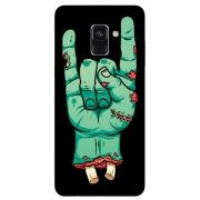 Capa Personalizada para Samsung Galaxy A8 2018 - Rock n Roll - AT06