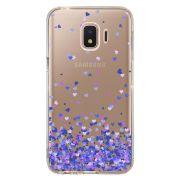 Capa Personalizada para Samsung Galaxy J2 Core J260 Corações - TP170