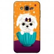 Capa Personalizada para Samsung Galaxy J7 Neo - Cachorro no Pote - DE03