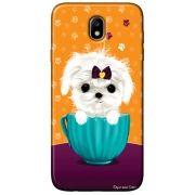 Capa Personalizada para Samsung Galaxy J7 Pro J730 - Cachorro no Pote - DE03