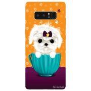 Capa Personalizada para Samsung Galaxy Note 8 - Cachorro no Pote - DE03