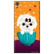 Capa Personalizada para Sony Xperia XA1 - Cachorro no Pote - DE03